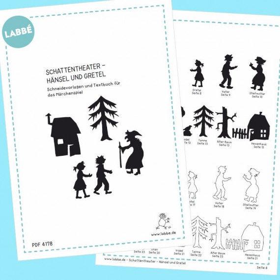 Schattentheater - Hänsel und Gretel PDF | Labbé