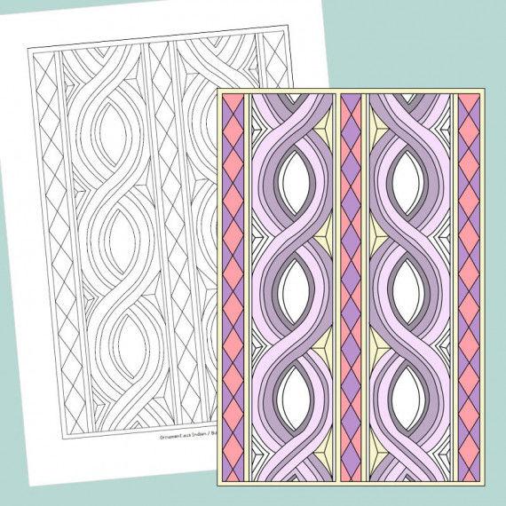 ausmalen ornamente aus aller welt pdf labb. Black Bedroom Furniture Sets. Home Design Ideas
