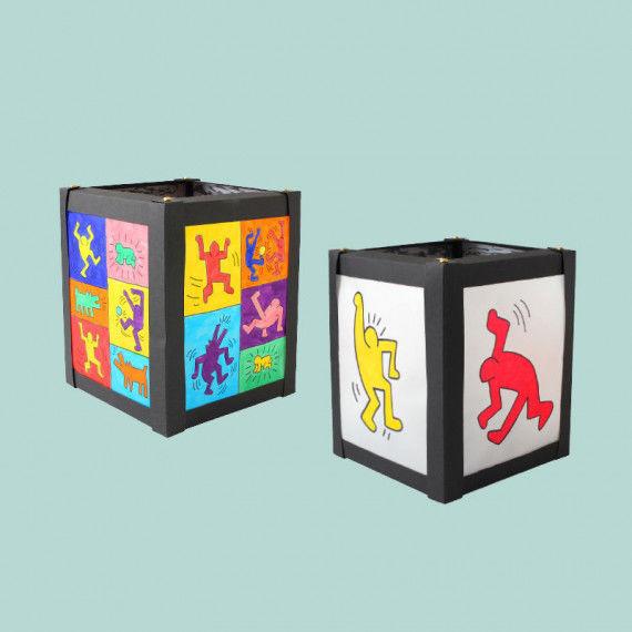 Keith Haring Malvorlagen für die Kartonlaterne