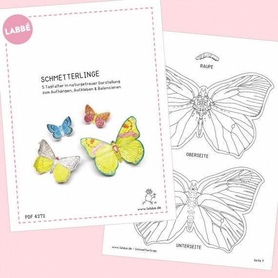 Fein Frühling Schmetterlinge Färbung Seiten Galerie ...