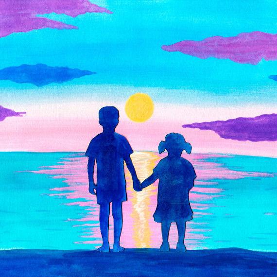 Landschaft & Emotion - Collage mit Kindern