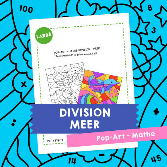 Homeschooling - Pop-Art – Mathe Division: Meer PDF
