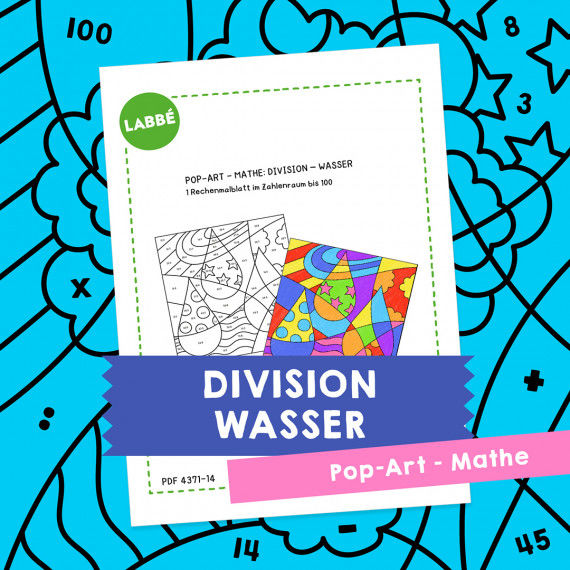 Homeschooling - Pop-Art – Mathe Division: Wasser PDF