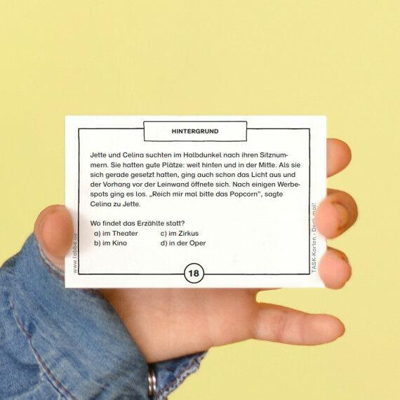 TASK-Karten: Denk mal! Hintergrund