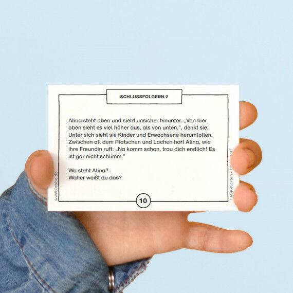 TASK-Karten: Denk mal! Schlussfolgern 2