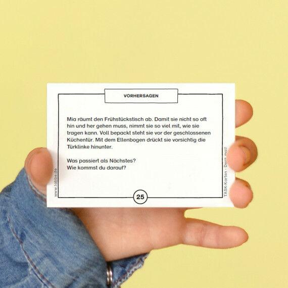 TASK-Karten: Denk mal! Vorhersagen
