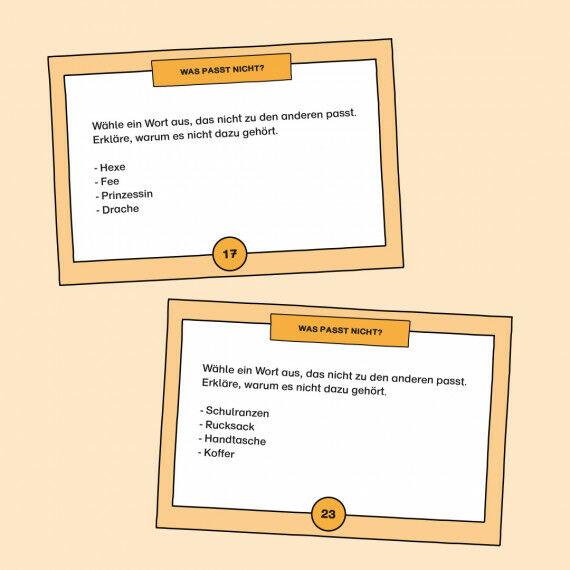 Aufgabenkarten zum Vorhersagen