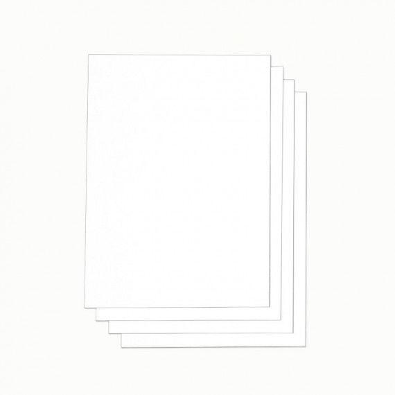 Weißer Karton zum Drucken mit allen gängigen Druckern