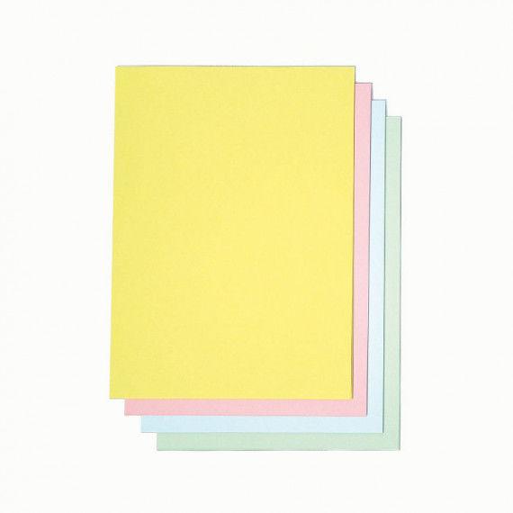 Drucker-Karton in Pastellfarben