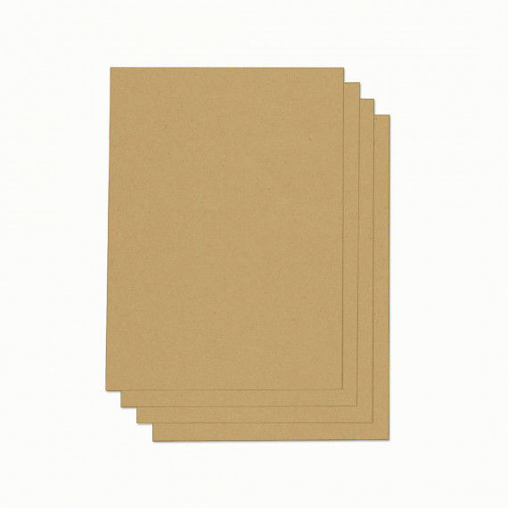 Kraftpapier zum Bedrucken, DIN A4