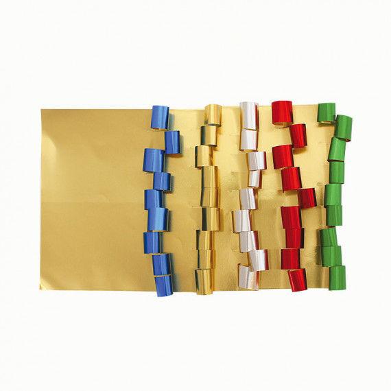 Goldfolie für die Weihnachtsbastelei