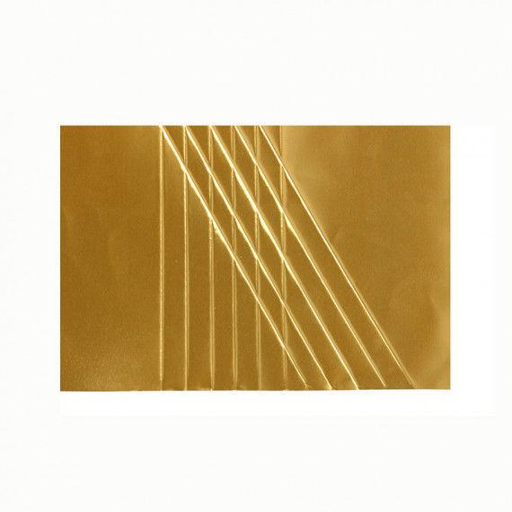 Goldene Prägefolie