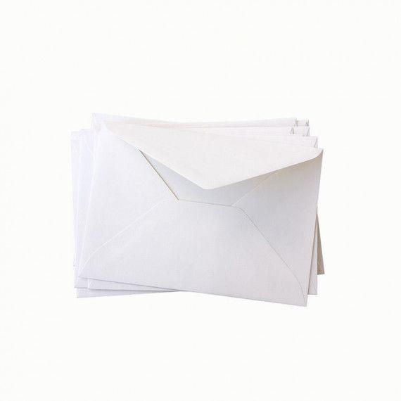Briefumschläge, weiß