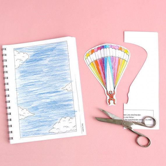 Erster Faltschnitt - Buch mit Falt- und Schneideübungen für Kinder