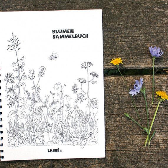 Blumensammelbuch