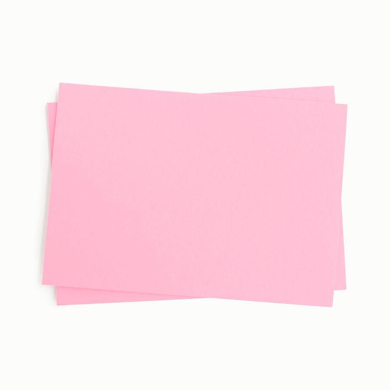 Tonpapier einzeln, rosa