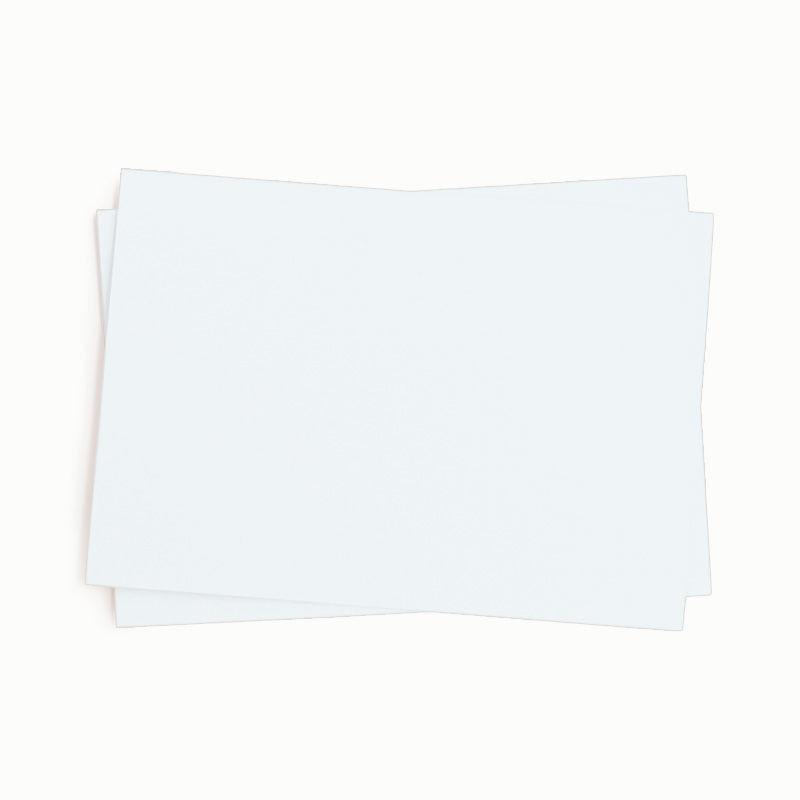 Fotokarton, einzeln, weiß