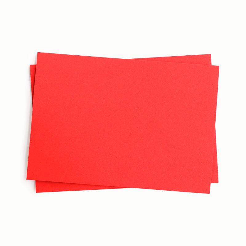 Fotokarton, einzeln, rot