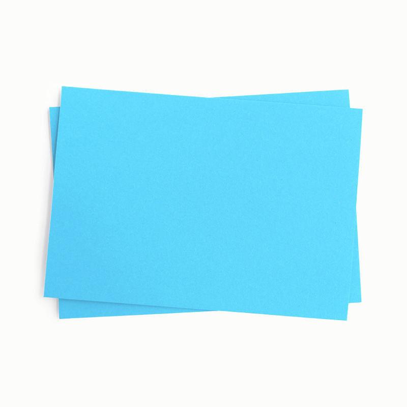 Fotokarton, einzeln, hellblau