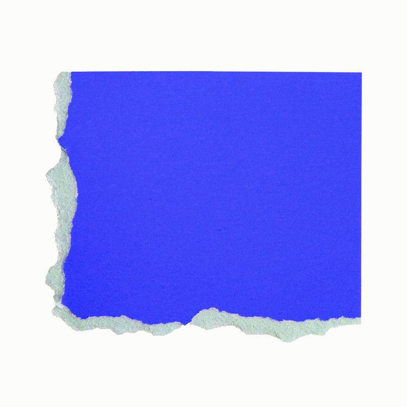 Plakatkarton, einzeln, blau