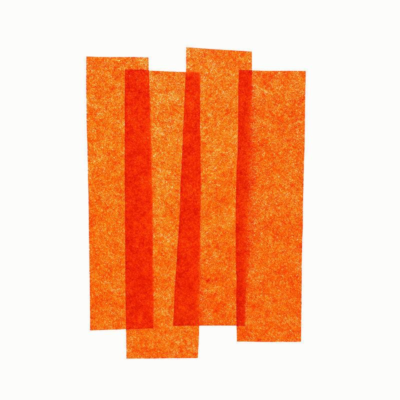 Seidenpapier 26er Pack, orange