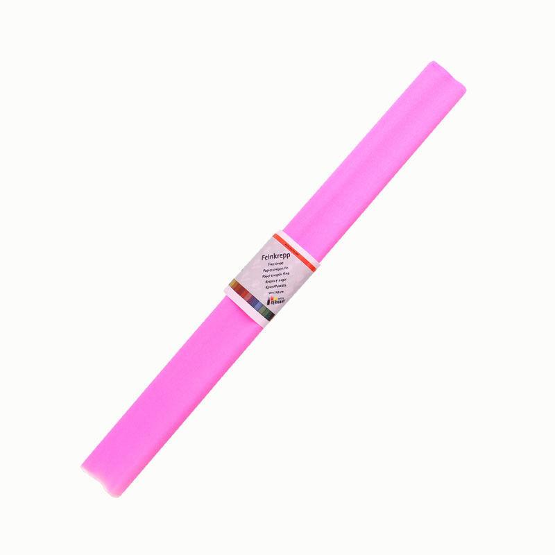 Krepppapier, einzeln, rosa