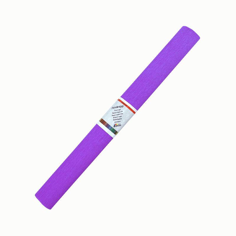 Krepppapier, einzeln, violett