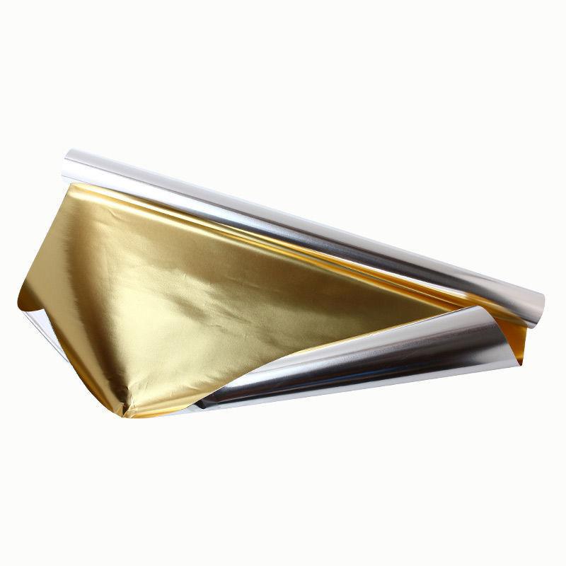 Goldfolie, gold-silber