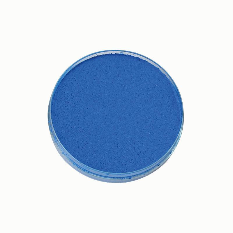 Theaterschminke, blau