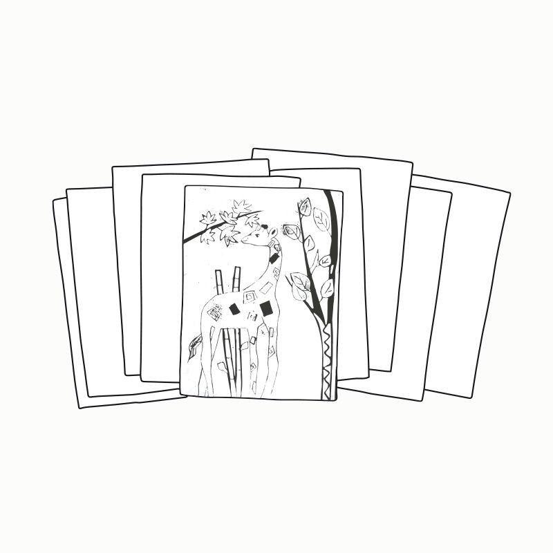 Zeichenkarton, DIN A2