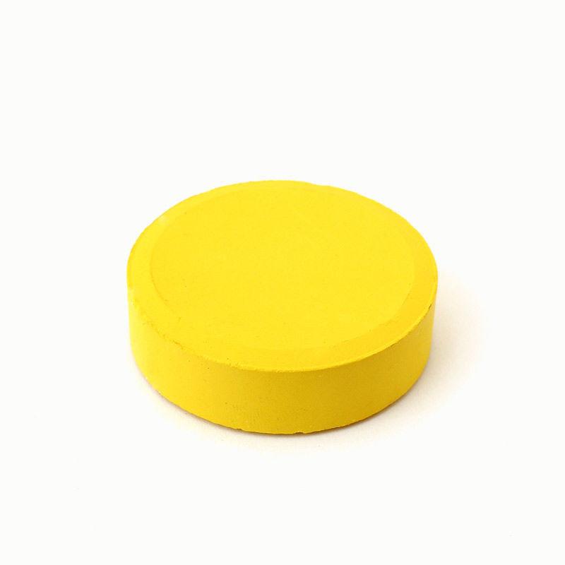 Tempera-Puck 55 mm, gelb
