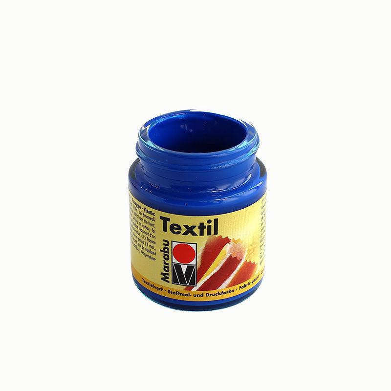 Stoffmalfarbe 50 ml, mittelblau