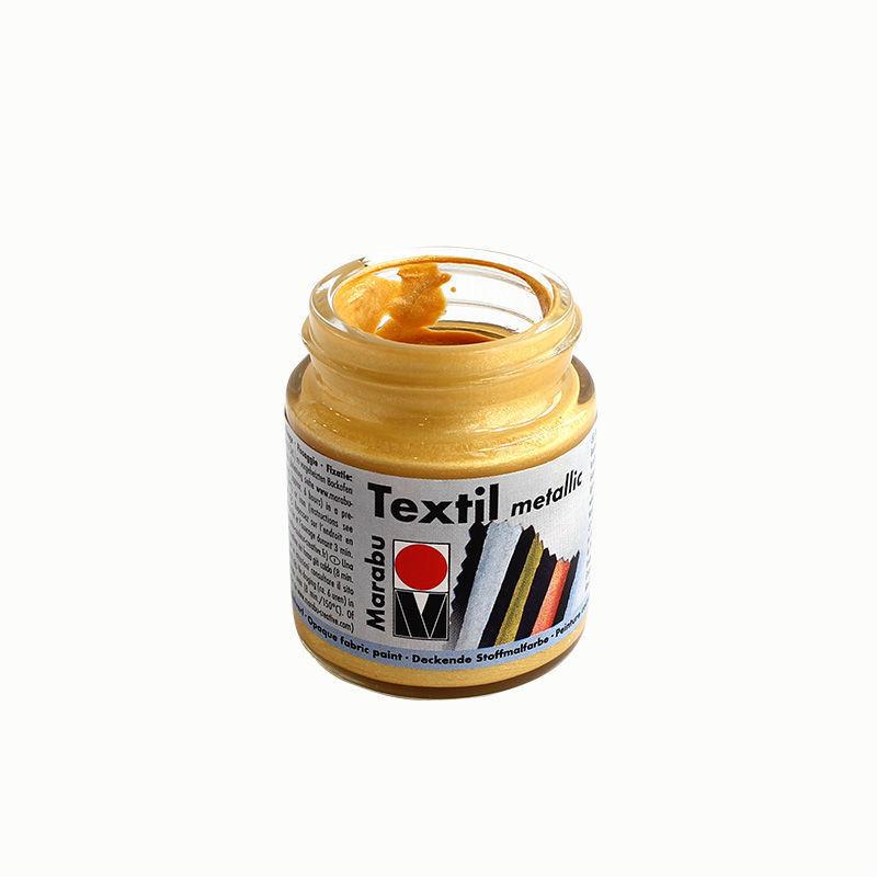 Stoffmalfarbe 50 ml, gold