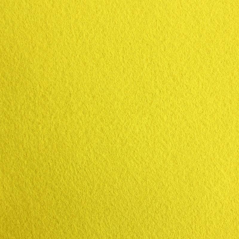 Filzplatte extradick, gelb