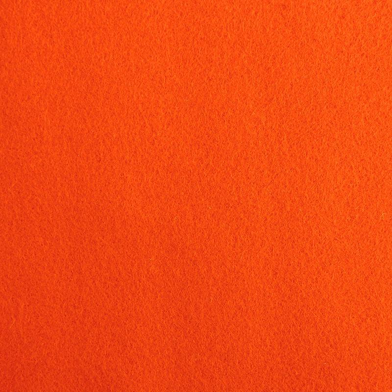 Filzplatte, einzeln, orange