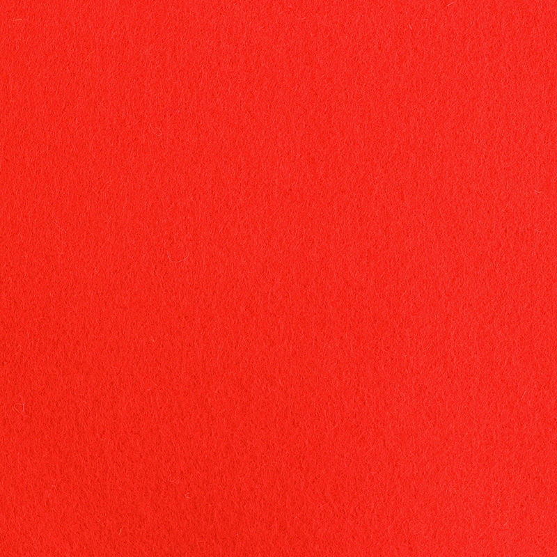 Filzplatte extradick, rot