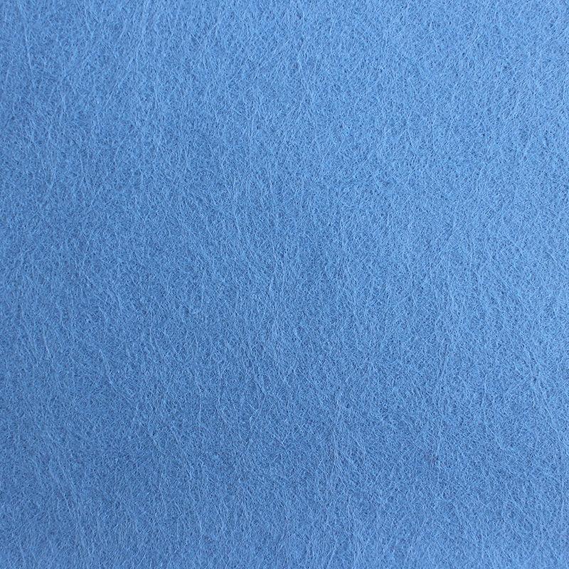 Filzplatte,einzeln, hellblau