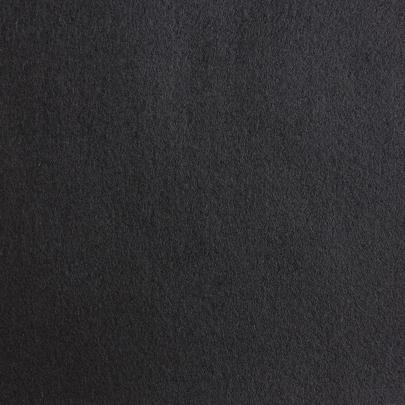 Filzplatte extradick, schwarz