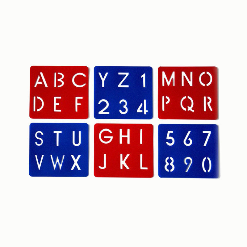 Schablonen ABC