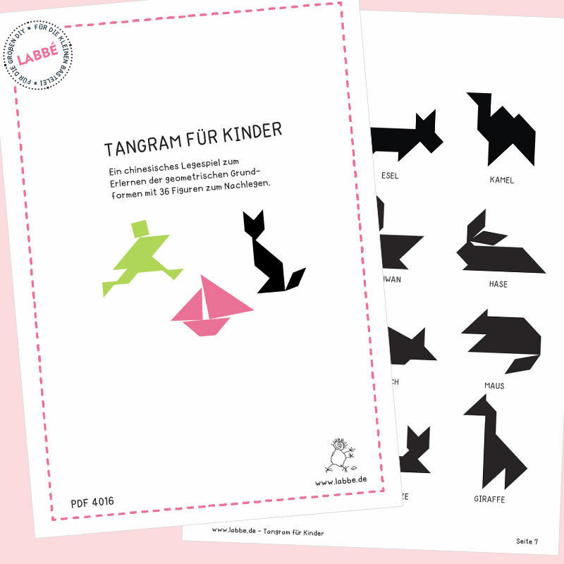 tangram für kinder pdf  labbé
