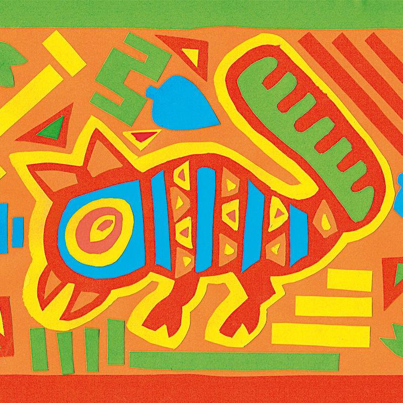 Molas - Traditionelle Textil-Kunstwerke der Kuna-Indianer