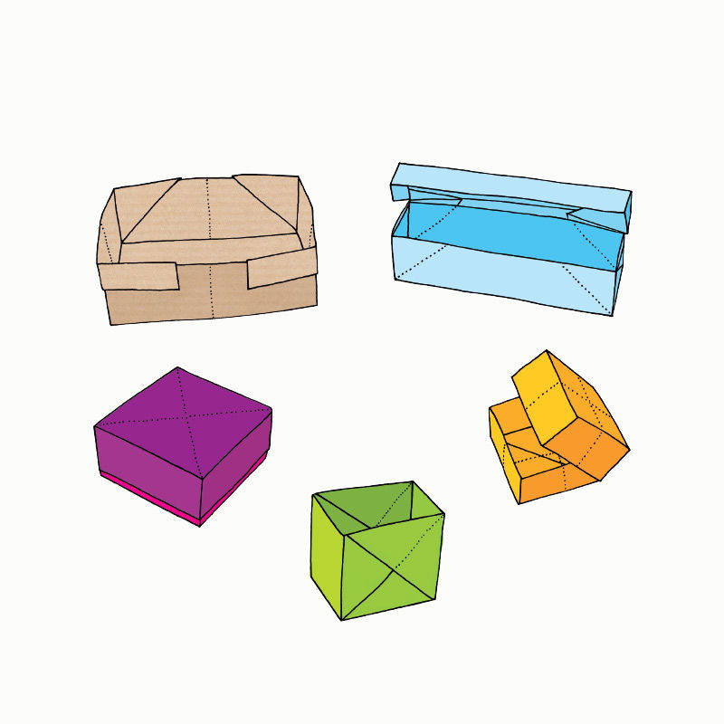 origami schachteln pdf basteln malen lernen spielen. Black Bedroom Furniture Sets. Home Design Ideas