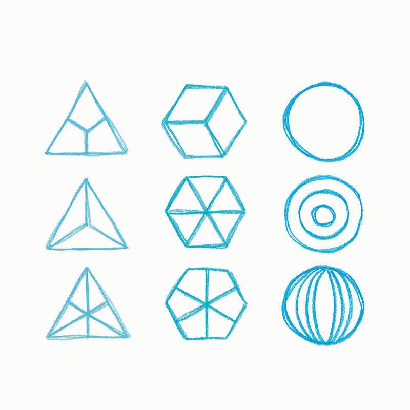 formenzeichnen geometrische formen pdf basteln malen lernen spielen labb. Black Bedroom Furniture Sets. Home Design Ideas
