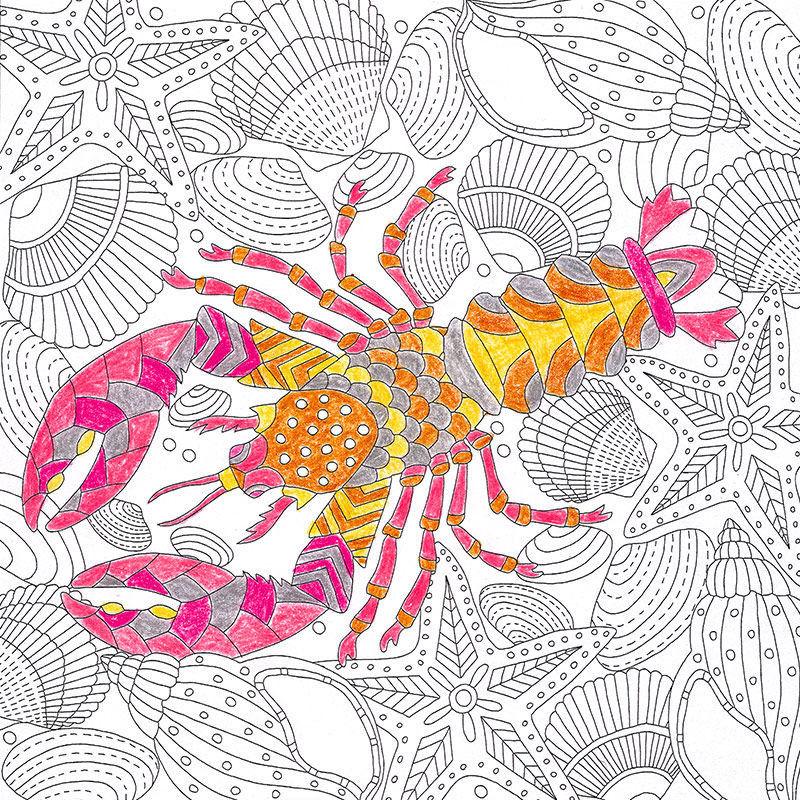 Ausmalbilder mit Meeresmotiven