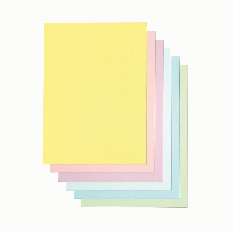 Drucker-Papier in Pastellfarben