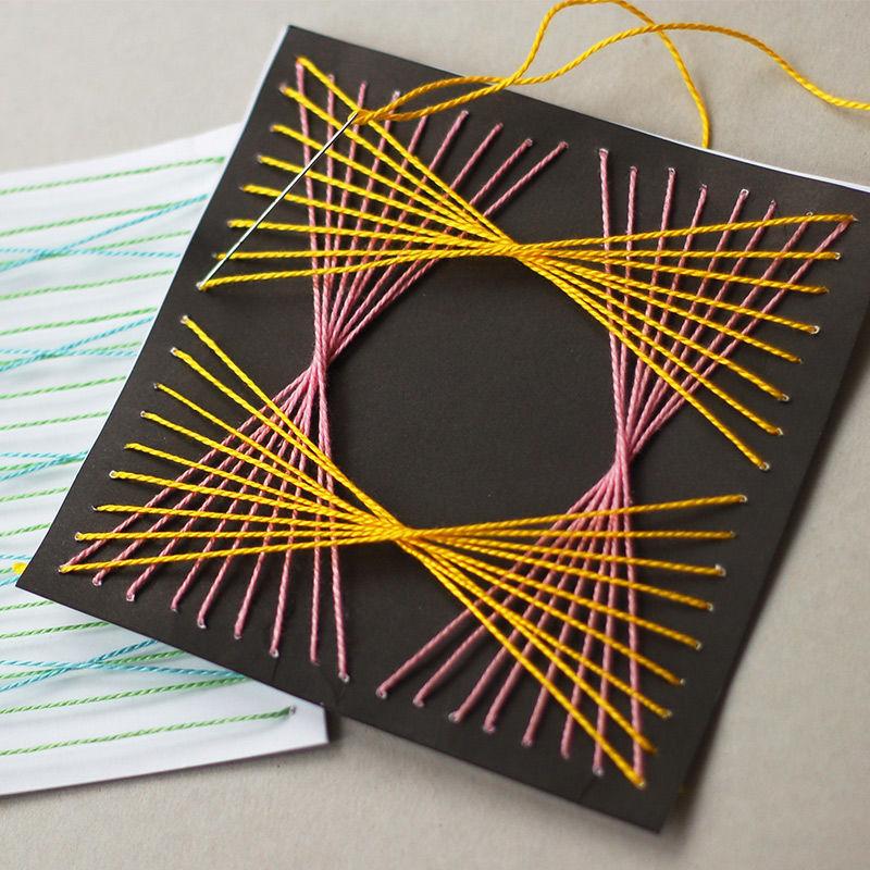 Fadengrafik basteln malen lernen spielen labb for Nagelbilder vorlagen