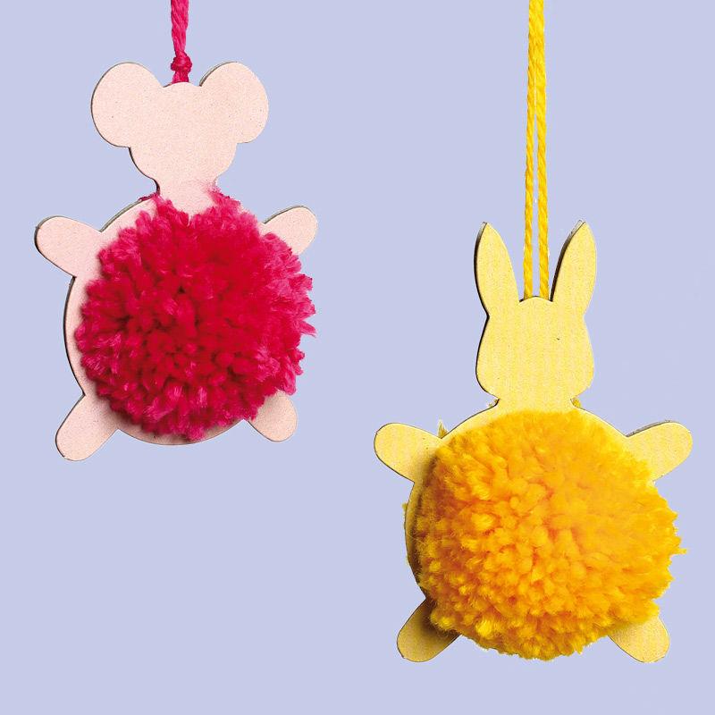Pompon-Tiere