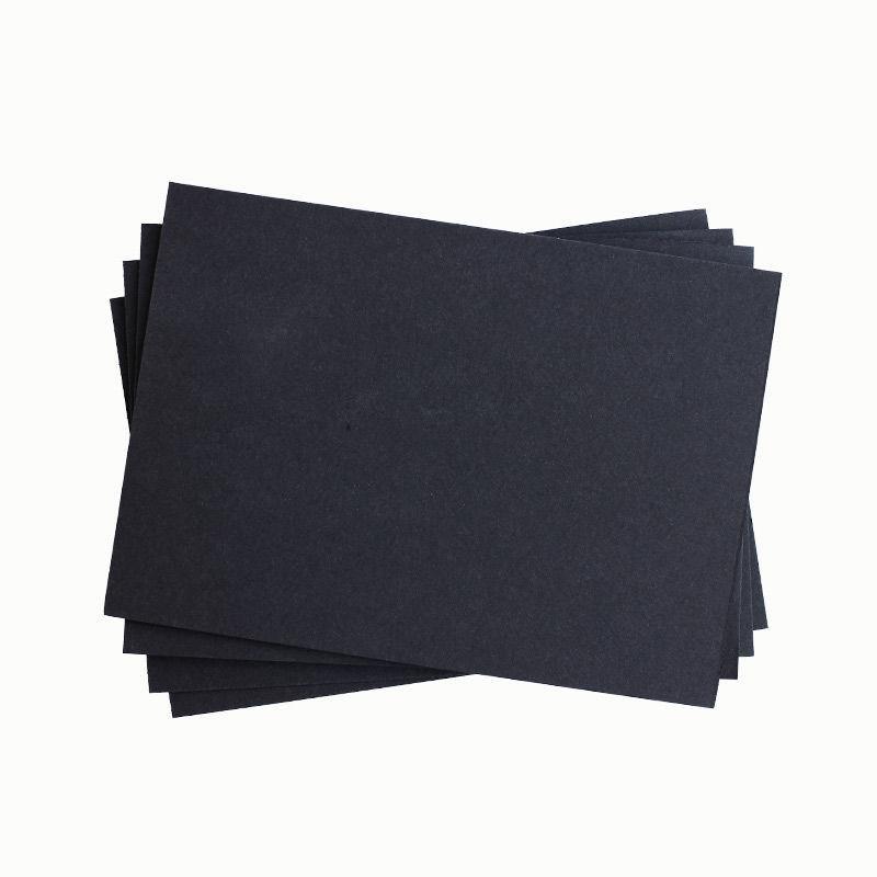 Fotokarton DIN A4, schwarz