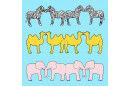 Papierketten - Wilde Tiere PDF