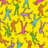 Keith Haring - Tanzfiguren